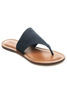 Bernardo Monica Leather Thong Sandals