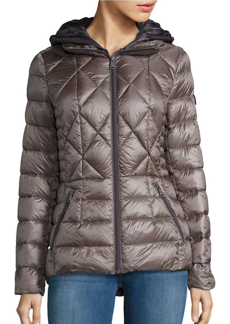BERNARDO Packable Down Coat