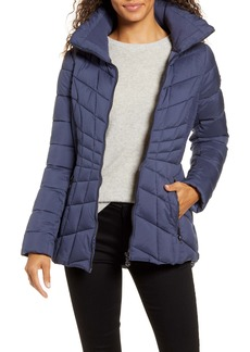 Bernardo Packable Down & EcoPlume Coat (Regular & Petite)