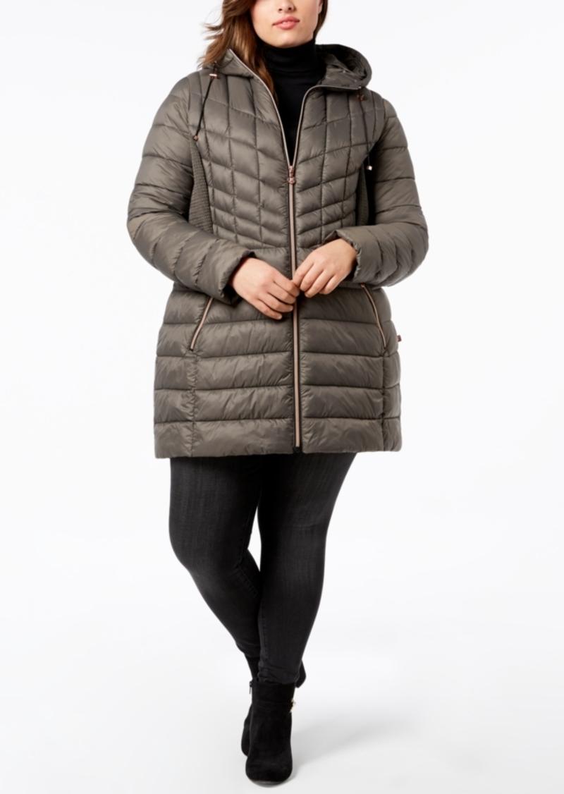 90ca3599248 Bernardo Bernardo Plus Size Packable Puffer Coat
