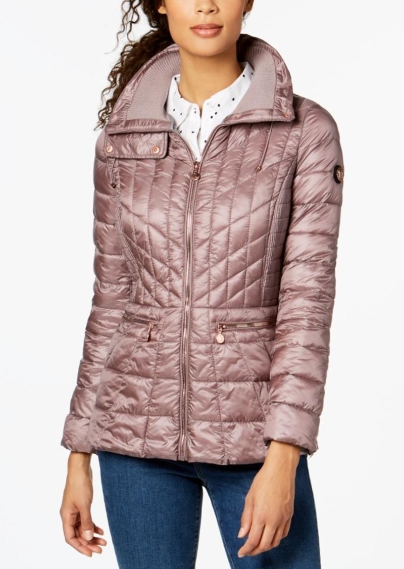 95301883f6b Bernardo Bernardo Quilted Packable Puffer Coat