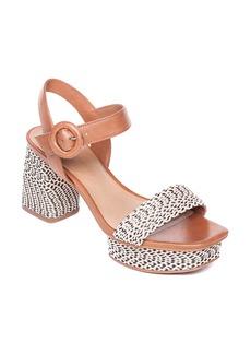 Bernardo Regan Raffia Platform Sandal (Women)