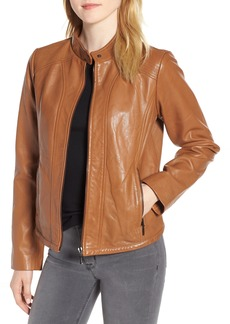 Bernardo Scuba Leather Jacket