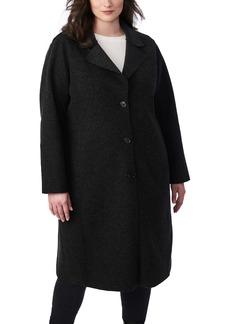 Bernardo Sweater Long Coat (Plus Size)