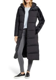 Bernardo Velvet Trim Puffer Jacket