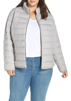 Bernardo Water-Resistant Thermoplume Insulated Jacket (Plus Size)