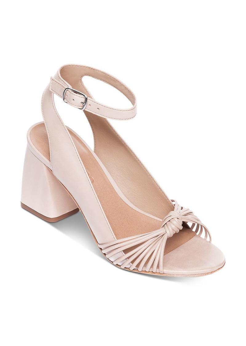Bernardo Women's Nadia Ankle Strap Chunky-Heel Sandals