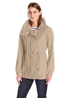 Bernardo Women's Anorak Jacket with Cinched Waist  XS