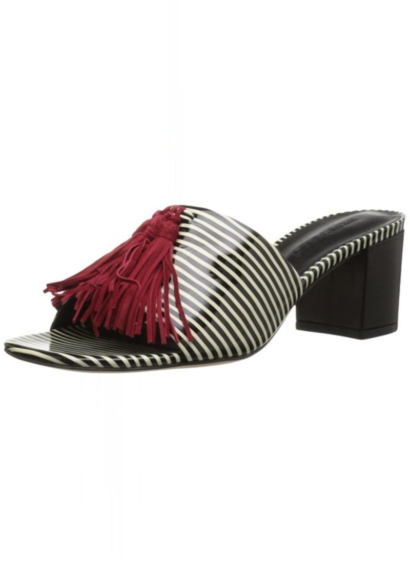 Bernardo Women's Bennet Slide Sandal B/AmpW Patent/Red  M US