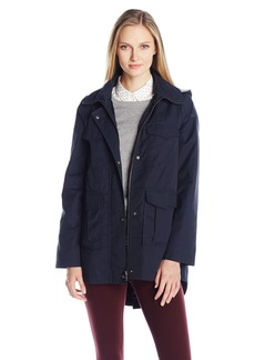 Bernardo Women's Cotton/Nylon Swing Jacket