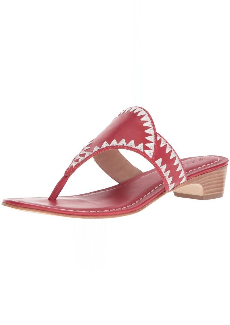 Bernardo Women's GABI Wedge Sandal red Antique Calf M M US