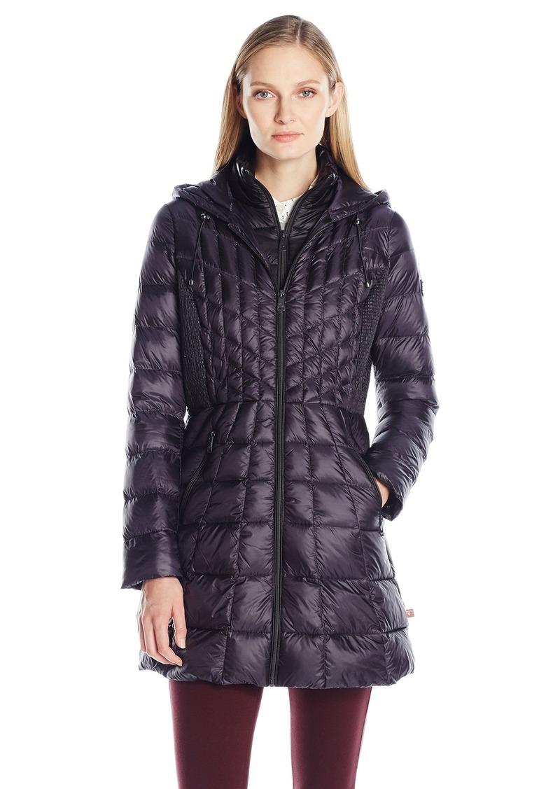9f7b81876425c On Sale today! Bernardo Bernardo Women s Glossy Nylon Primaloft Jacket