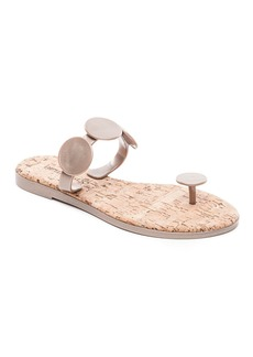 Bernardo Women's Jelly Disk & Cork Sandals