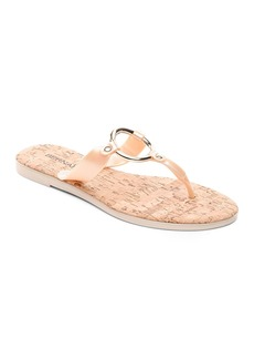 Bernardo Women's Jelly Ring Thong Sandals