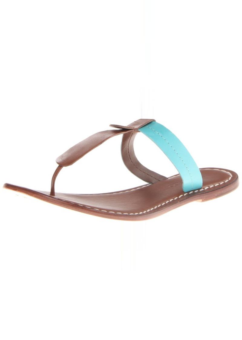 Bernardo Women's Mercer Two-Tone Flat Sandal