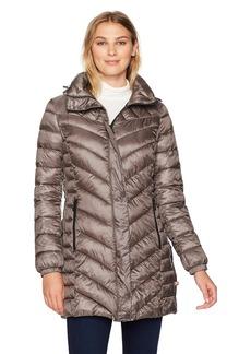 Bernardo Women's Quilted Primaloft Walker Long Coat  S