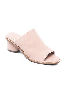 Bernardo Women's Suede Block Heel Slide Sandals