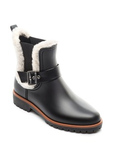 Bernardo Zain Genuine Shearling Trim Rain Boot (Women)