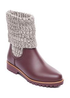 Bernardo Zurich Knit Shaft Waterproof Rain Boot (Women)
