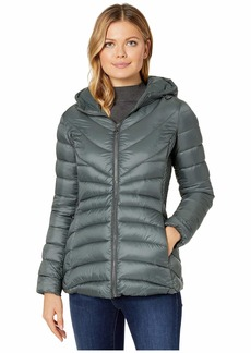 Bernardo EcoPlume Hooded Packable Puffer Jacket