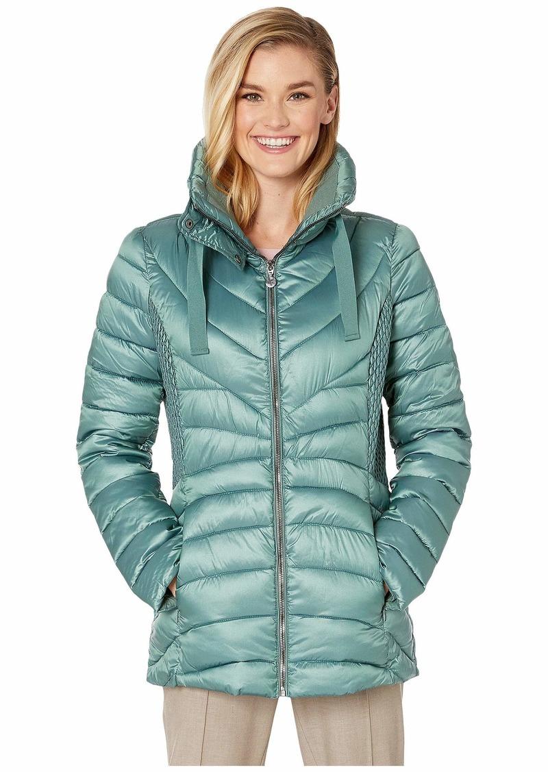 Bernardo EcoPlume Lust Fabric Fitted Packable Jacket
