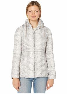 Bernardo EcoPlume Printed Packable Puffer Jacket