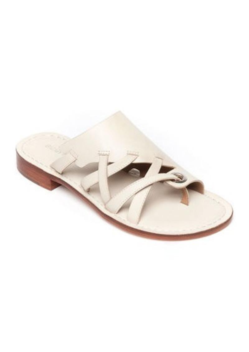 Bernardo Tenley Flat Leather Slide Sandals