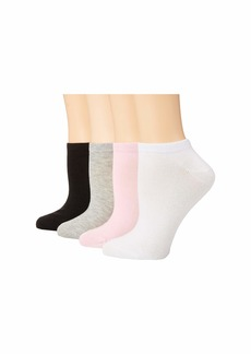 Betsey Johnson 10-Pack Solid Low Cut Socks