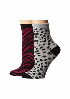 Betsey Johnson 2-Pack Crew Socks Gift Box