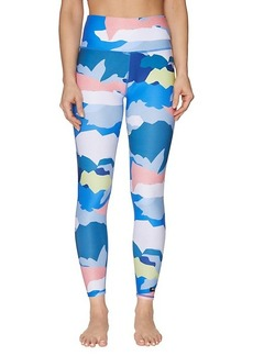 Betsey Johnson Abstract-Print High-Rise Leggings