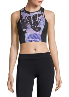 Betsey Johnson Abstract-Print Sports Bra