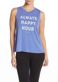 Betsey Johnson Always Happy Hour Tank Top