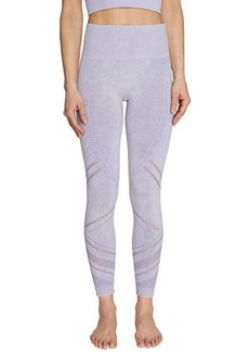 Betsey Johnson Angled Mesh 7/8 Seamless Leggings