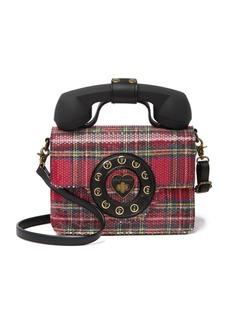 Betsey Johnson Answer Me Phone Crossbody Bag