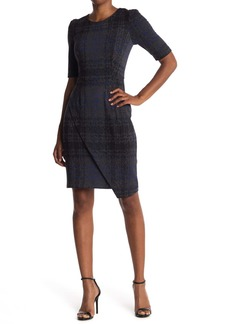 Betsey Johnson Asymmetrical Jumbo Plaid Dress