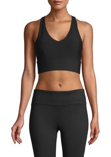 Betsey Johnson Back Cutout Sports Bra