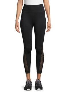 Betsey Johnson Banded Cut-Out Leggings