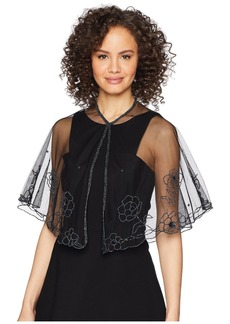 Beaded Floral Capelet