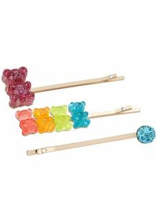 Betsey Johnson Bear Pin Hair Set