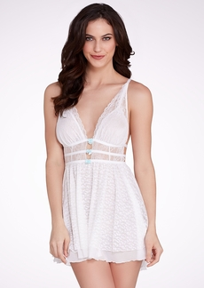 Betsey Johnson + The Daring Bride Mesh Slip Chemise