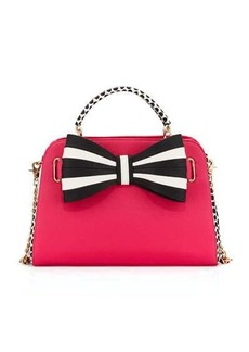 Betsey Johnson 1 2 3 Bow Satchel Bag