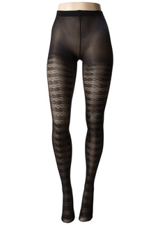 Betsey Johnson 1-Pack Jacquard Tights