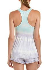 Betsey Johnson 2Pc Pajama Short Set