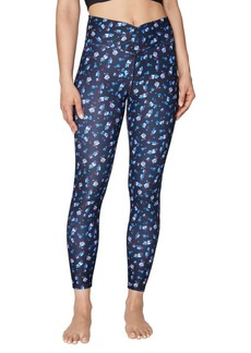 Betsey Johnson All Over Print Mitered Waist Leggings