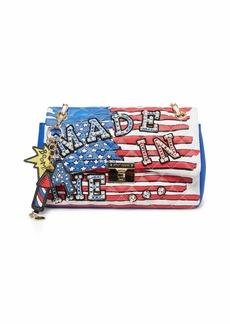 Betsey Johnson American Girl Flap Shoulder Bag