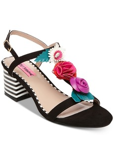 Betsey Johnson Andey Dress Sandals Women's Shoes