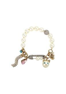 Betsey Johnson Angel Cat Stretch Bracelet