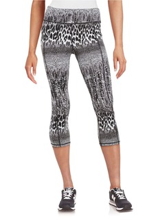 BETSEY JOHNSON Animal Print Performance Leggings