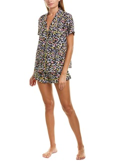 Betsey Johnson Animal Print Pj Set