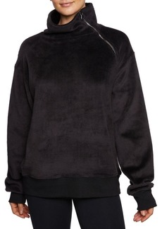 Betsey Johnson Asymmetrical Pullover Sweatshirt